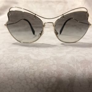 Miu Miu Butterfly Sunglasses